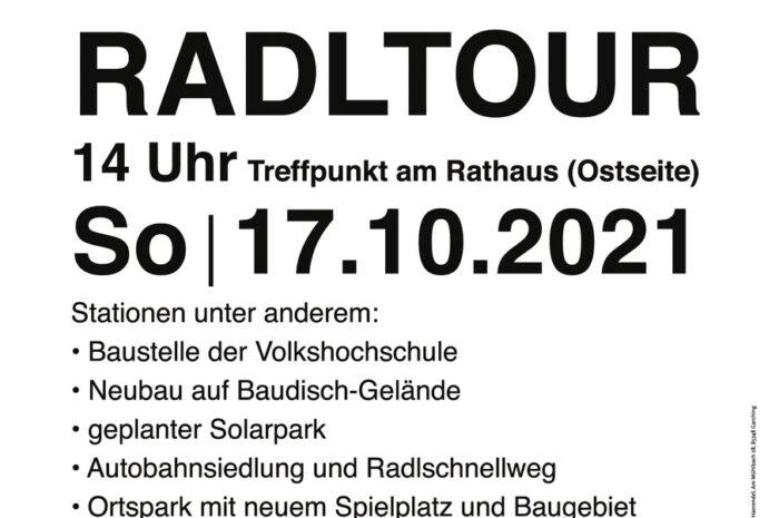Radltour der SPD Garching